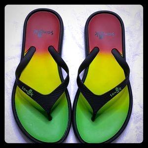 Sanuk Rubber flip flops
